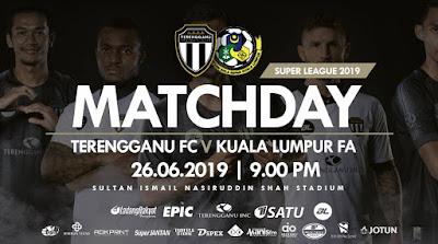 [LIVE] Terengganu vs Kuala Lumpur (Liga Super)
