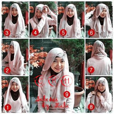 Tutorial Hijab Pengantin Model Jilbab Terbaru 2017 untuk Resepsi Pesta Pernikahan dan Akad Nikah