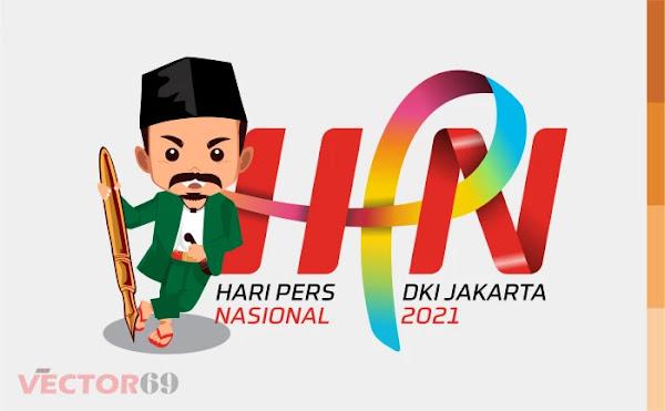 Hari Pers Nasional 2021 DKI Jakarta Logo - Download Vector File AI (Adobe Illustrator)