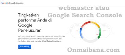 Cara Submit Artikel ke Webmaster atau Google Search Console