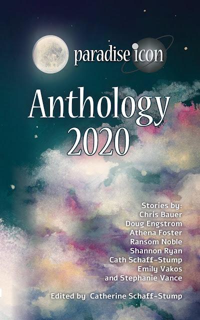 "Cover reads ""Paradise Icon Anthology 2020"""