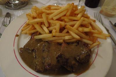 L'Entrecote, steak