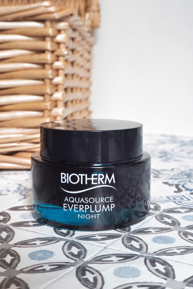 Aquasource Everlump Night masque de nuit Biotherm