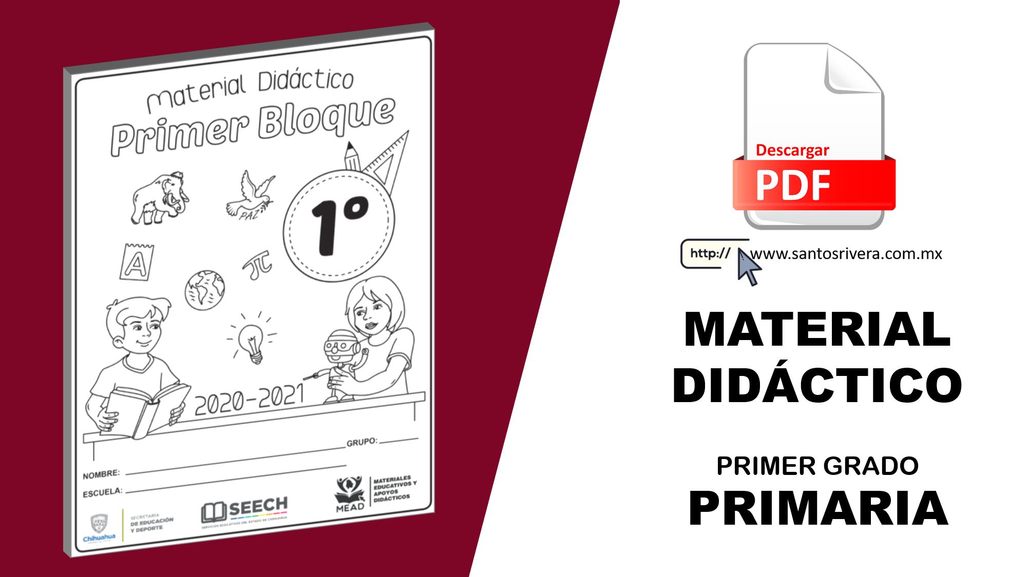 Material didáctico para 1° de primaria