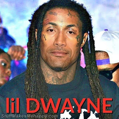 Dwayne Johnson and Lil Wayne