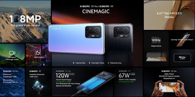Xiaomi เปิดตัว Xiaomi 11T Pro, Xiaomi 11T และ Xiaomi 11 Lite 5G NE พร้อมกองทัพผลิตภัณฑ์ AIoT นำโดย Xiaomi Pad 5, Xiaomi FlipBuds Pro, Outdoor Security Camera และ Mi Smart Standing Fan 2 เปิดตัวในประเทศไทยแล้ววันนี้พร้อมโปรโมชั่นจัดเต็ม