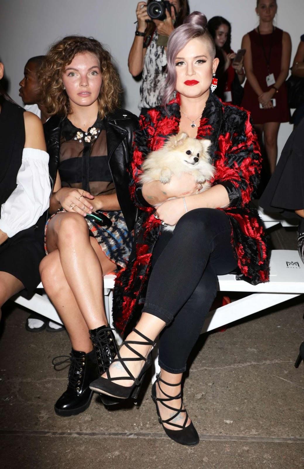 Camren Bicondova At Milly Fashion Show At 2016 New York Fashion Week