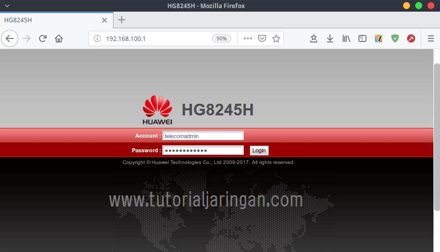 Password Modem Huawei Hg8245h Indihome Terbaru 2020 Tutorial Jaringan Komputer Configure Your Knowledge