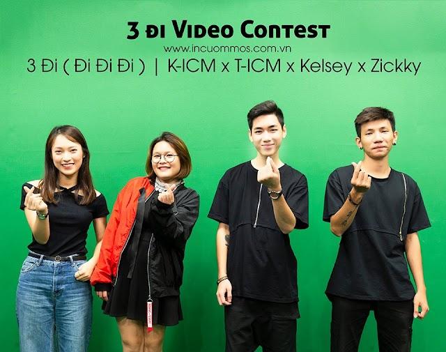 K-ICM x T-ICM x Kelsey x Zickky I 3 Đi ( Đi Đi Đi ) - DJ Lê Đông