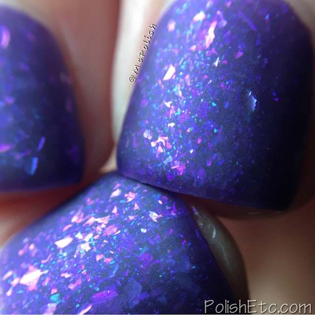 Ever After Polish - Flake It Up Collection - McPolish - Purple Haze