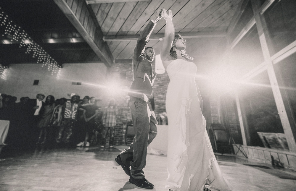 First Dance at the Hillside Church wedding hall, El Cerrito, CA California