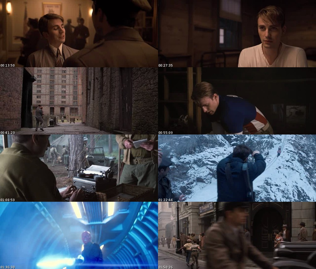 Capitan America: El primer vengador (2011) [DVDRip] [Latino]