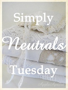 Simply Neutrals Tuesday linky party at AppleApricot