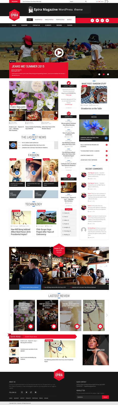 Best Premium Magazine theme