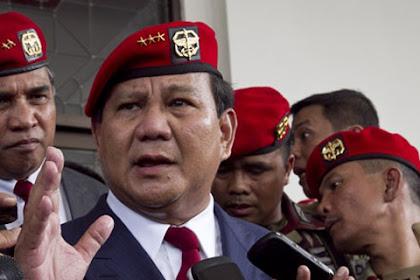 Soal Gengsi, Apakah Prabowo Bersedia Pindah Dari Menhan Jadi Mentan?