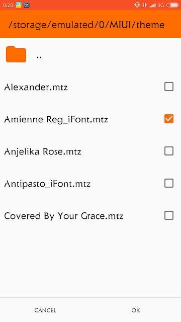 memang sudah bisa kalian cicipi saat ini Cara mudah pasang Custom Font di MIUI 9