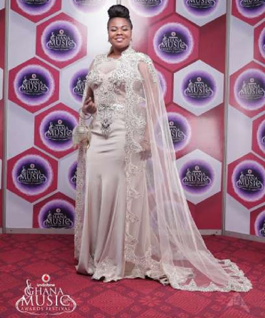 "I bought my ""mosquito net"" dress for 2,000 dollars – Gifty Osei"