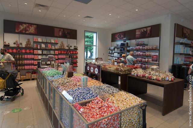 Visita tienda Lind Oloron Francia chocolate