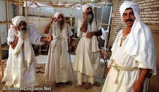 Cristianos que hablan arameo, el idioma de Jesús.