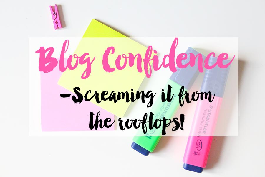 Blog Confidence