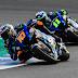 Primer día de test privados de Moto2 y Moto3 en Jerez