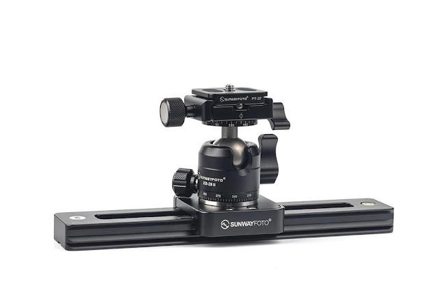 Sunwayfoto M3 Micro Slide + XB-28II Ballhead