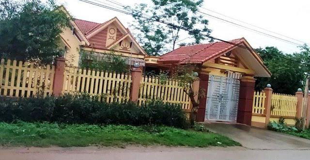 Ngôi nhà lộng lẫy của Phó Bí thư Đảng ủy xã Cẩm Phú - người gửi 2 con vào hộ nghèo