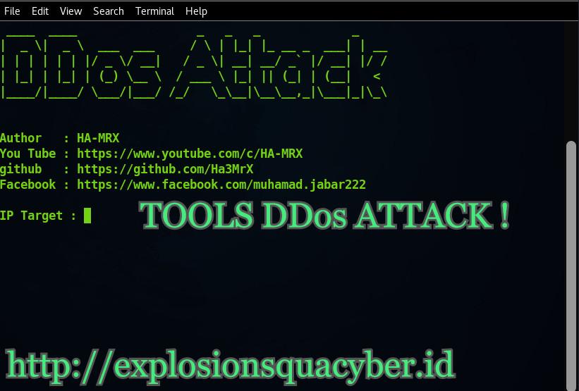 Tools DDos Attack Termux 2019! - ESCTEAM