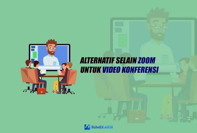 Top Aplikasi Alternatif Selain Zoom Terbaik untuk Konferensi Video