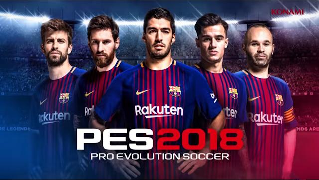 رسميا لعبة PES 2018 متاحة الآن للتحميل للاندرويد والايفون