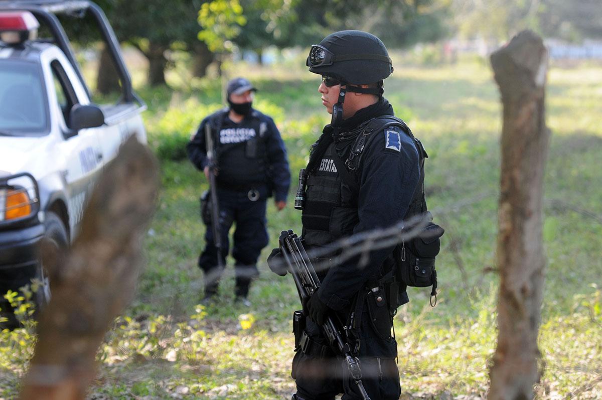 Hallan tres cuerpos mutilados y embolsados en Veracruz