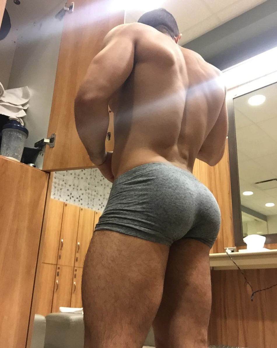 Sexy Male Bubble Butt