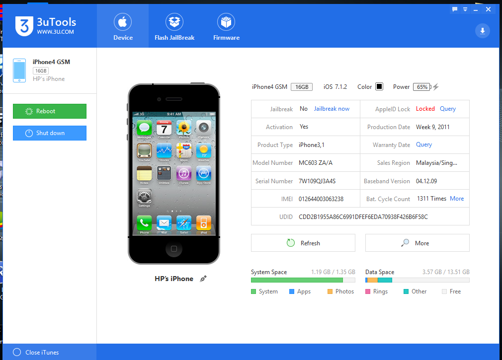 3uTools V1 07 Ready For Download - Cellphoneyeta