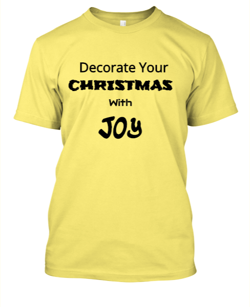 Decorate your Christmas with Joy