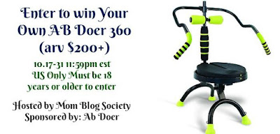 Enter the AB Doer 360 Giveaway. Ends 10/31