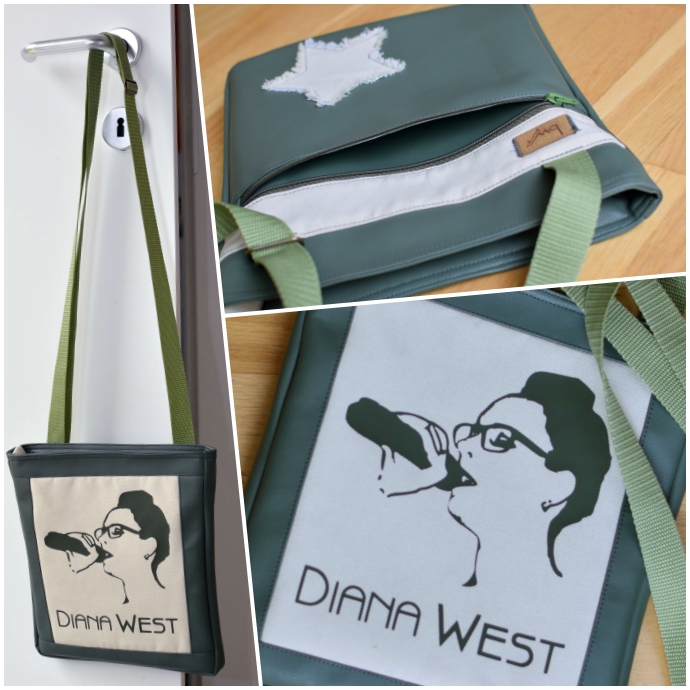 Übersicht der MännerSache der Taschenspieler 4 CD von Farbenmix. olivgrünes Kunstleder mit Canvas und olivgrünem Flex-Plot