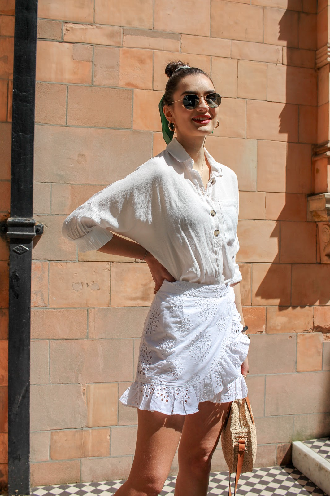 how to wear all white outfits summer