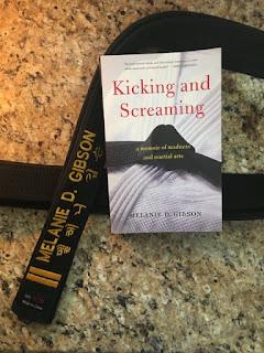 #NewBook #DebutAuthor #2021Books #kickingandscreaming #mentalhealth #taekwondo Spotlight on New Book Debut Author Melanie Gibson