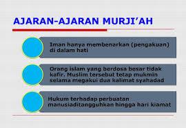 Sejarah Munculnya Aliran Murji'ah