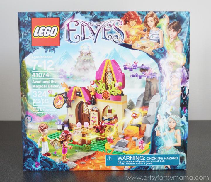 DIY Lego Elves Gift Basket | artsy-fartsy mama
