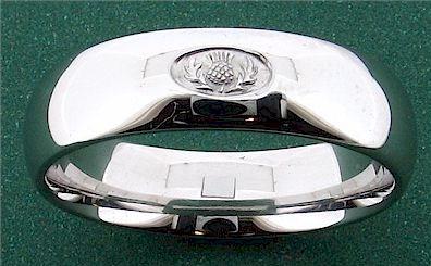 Scottish Wedding Rings For Men