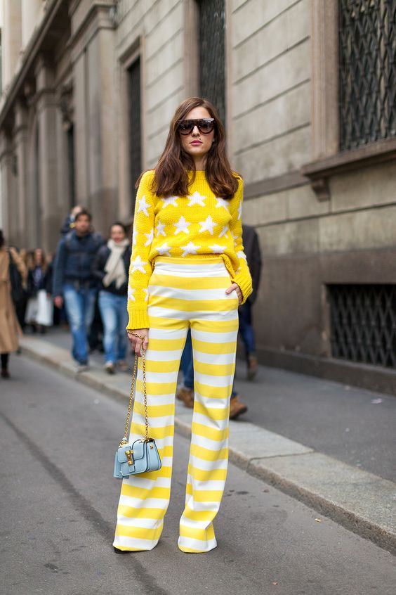 YELLOW STREET STYLE FASHION