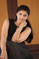 Khanishka new telugu actress in Black Dress Spicy Pics 26.JPG