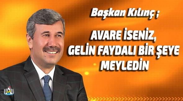 Hidayet Kılınç, Anamur Belediyesi, Anamur Son Dakika, Anamur Haber, Anamur Haberleri, MERÇED,