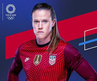 Picture of American soccer player, Alyssa Naeher