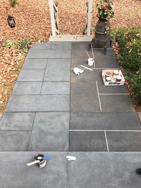 concrete patio dye