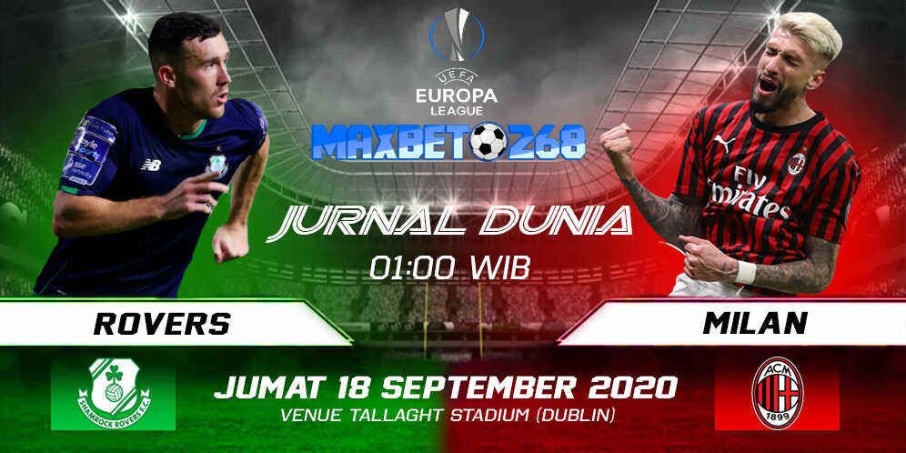 Prediksi Shamrock Rovers Vs AC Milan 18 September 2020 Pukul 01.00 WIB