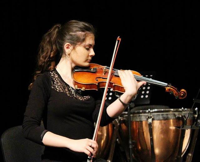 Koncert violinistkinje Kate Stojanović i violiste Bogdana Dobrića