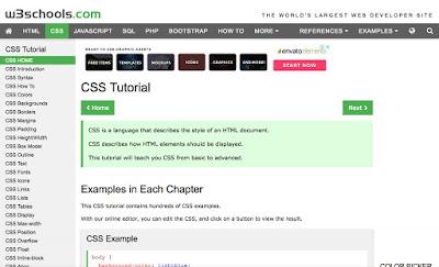 تعلم لغة CSS