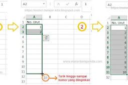 Cara Cepat Memasukkan Data di Microsoft Excel